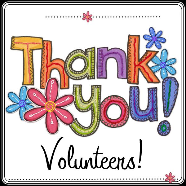 Volunteer Thank You Cards Thank You All So Much For The Donations
