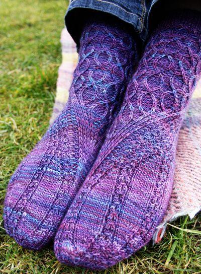 Slipstream Sock Knitty Spring Summer 2013 Free Pattern Freaking