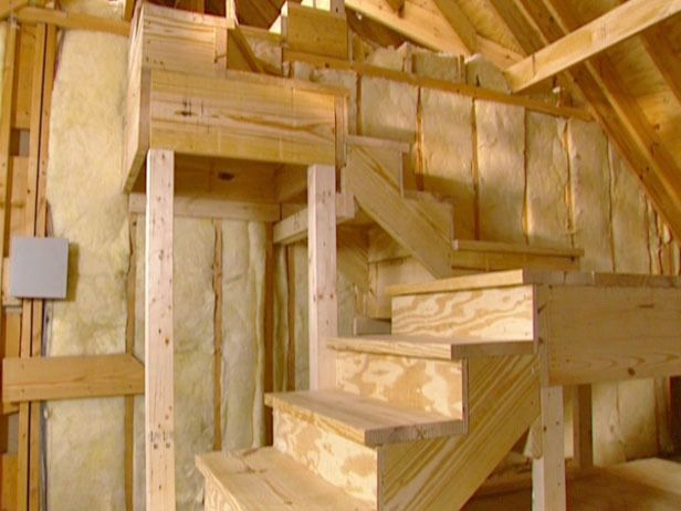 Build A Staircase To My Attic Google Search Whizzy