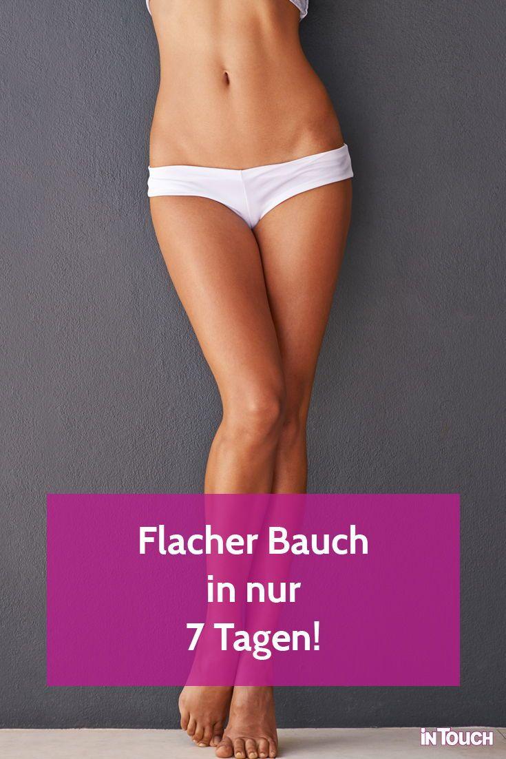 Bauch weg in 7 Tagen #sport #fitness #abnehmen #flacherbauch #diät