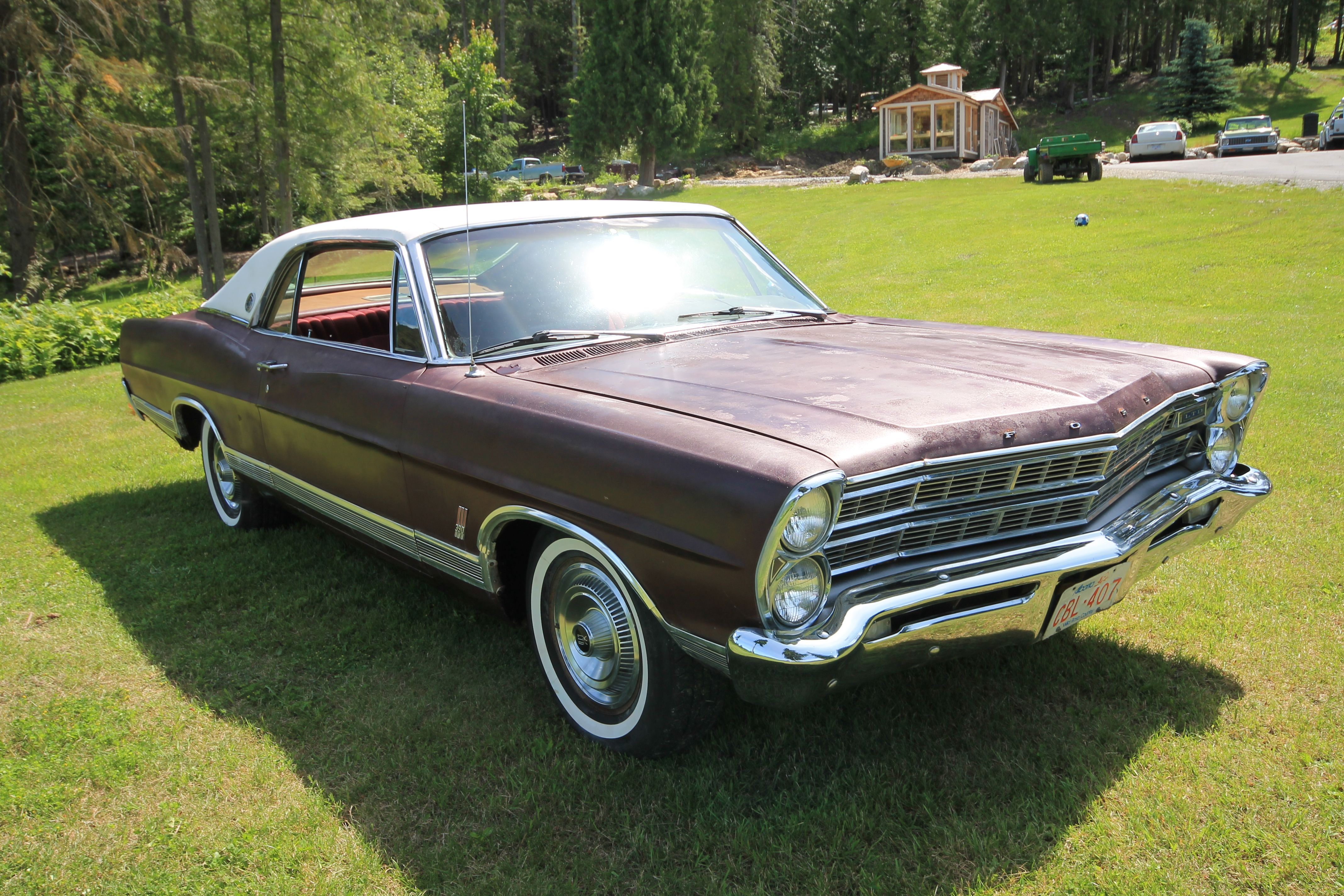 I\'ve just put my unrestored 1967 Ford LTD up for sale (sold 26/06/12 ...