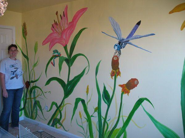 simple flat color garden murals google search church children\u0027s