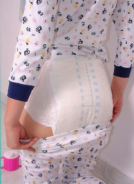 Getting ready for her bedtime diaper change and loves the idea of ...