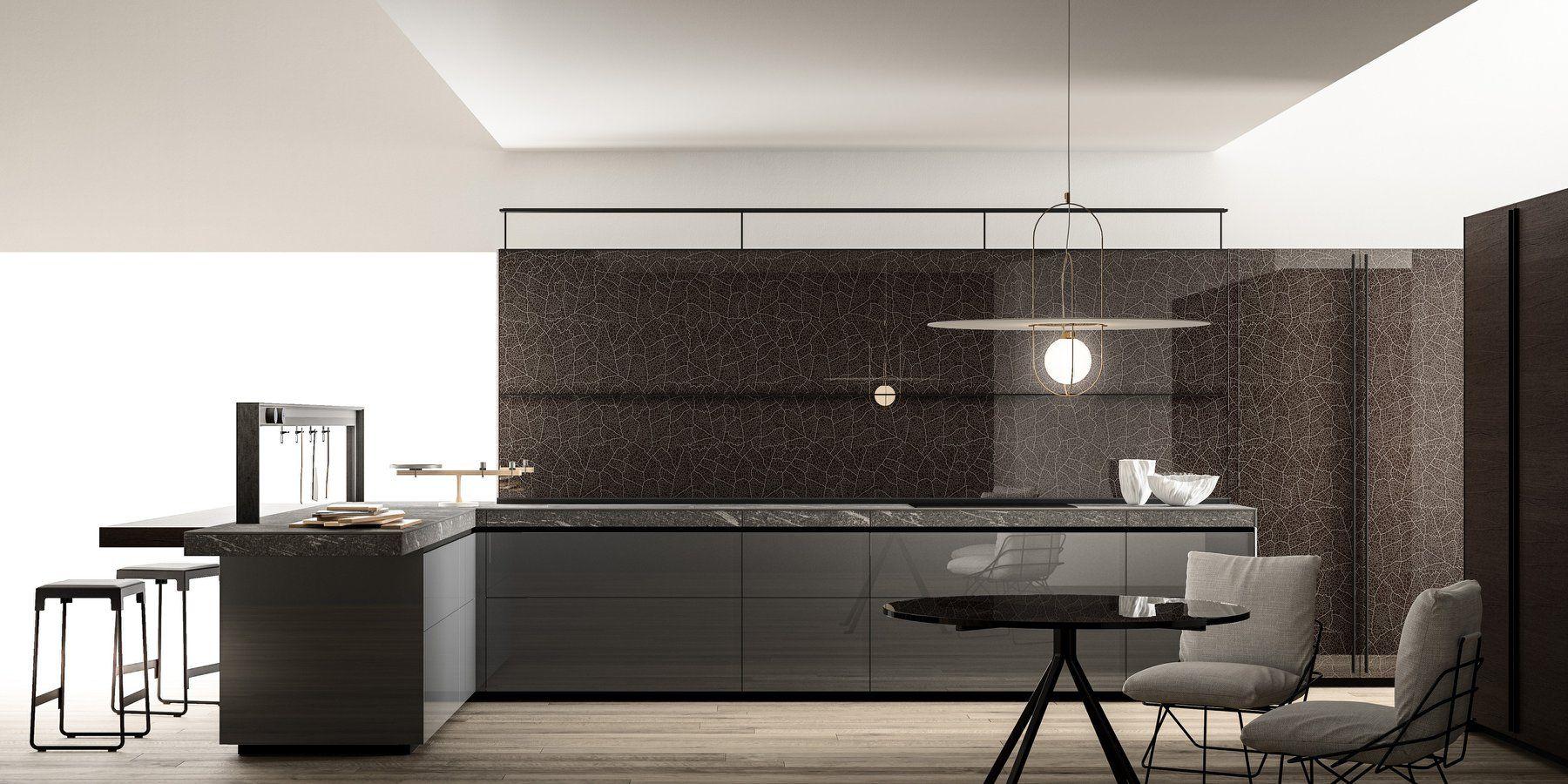 Valcucine kitchen Artematica Vitrum| VITRUM GRAFICO | Designer ...