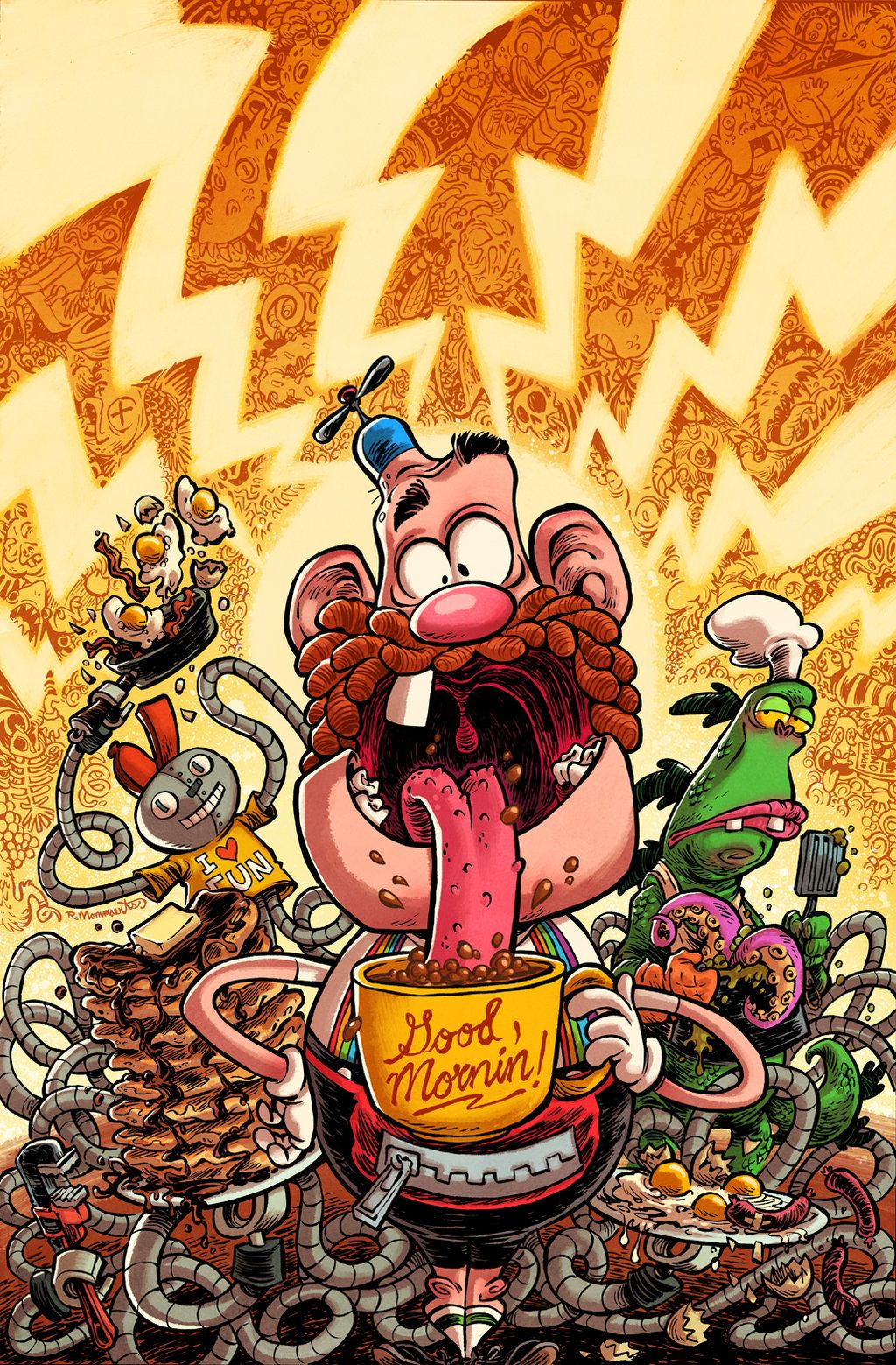 Uncle Grandpa Issue 6 Uncle Grandpa Cartoon Wallpaper Cartoon Art