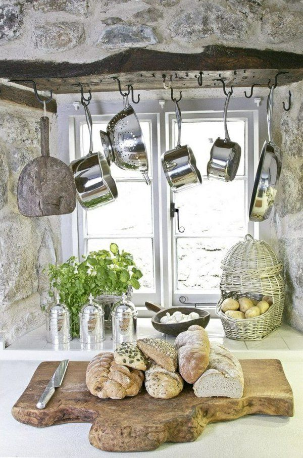 töpfe und pfannen aus Stahl am Fenster | DIY und Selbermachen ...