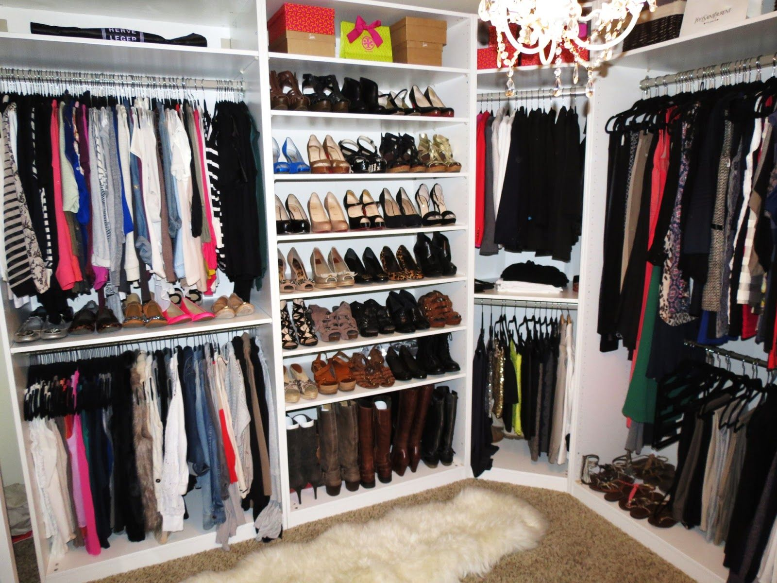 Extraordinary Bedroom Furniture With Shoe Storage For Closet Organizer White Wooden Walk In Shes And Hanging Clothes Also Brown Rug As