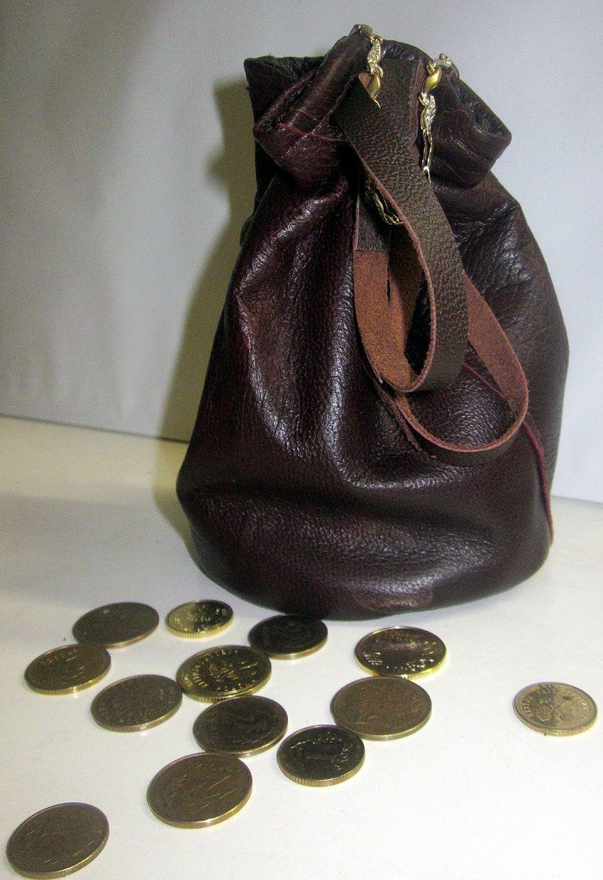 Sakiewka Mieszek Portfel Na Monety Skora Naturalna 8314291407 Oficjalne Archiwum Allegro Bucket Bag Bags Fashion