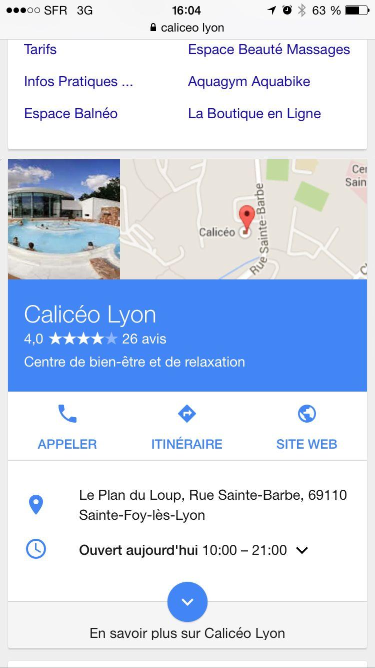 Centre Spa, Piscines a jets, Sauna, Hammam...soins et massages sur place (plus cher qu'à Paris...). Excellente sortie détente !!!!