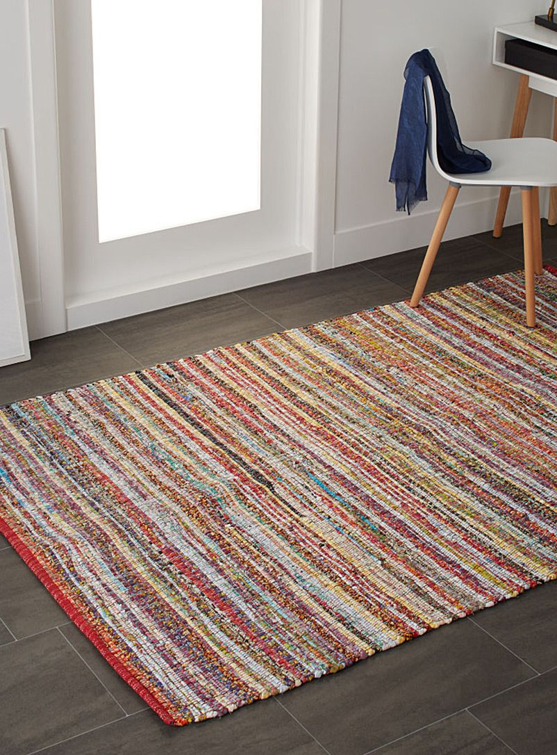 Marled multicolour floor mat 140 x 200 cm Simons Maison