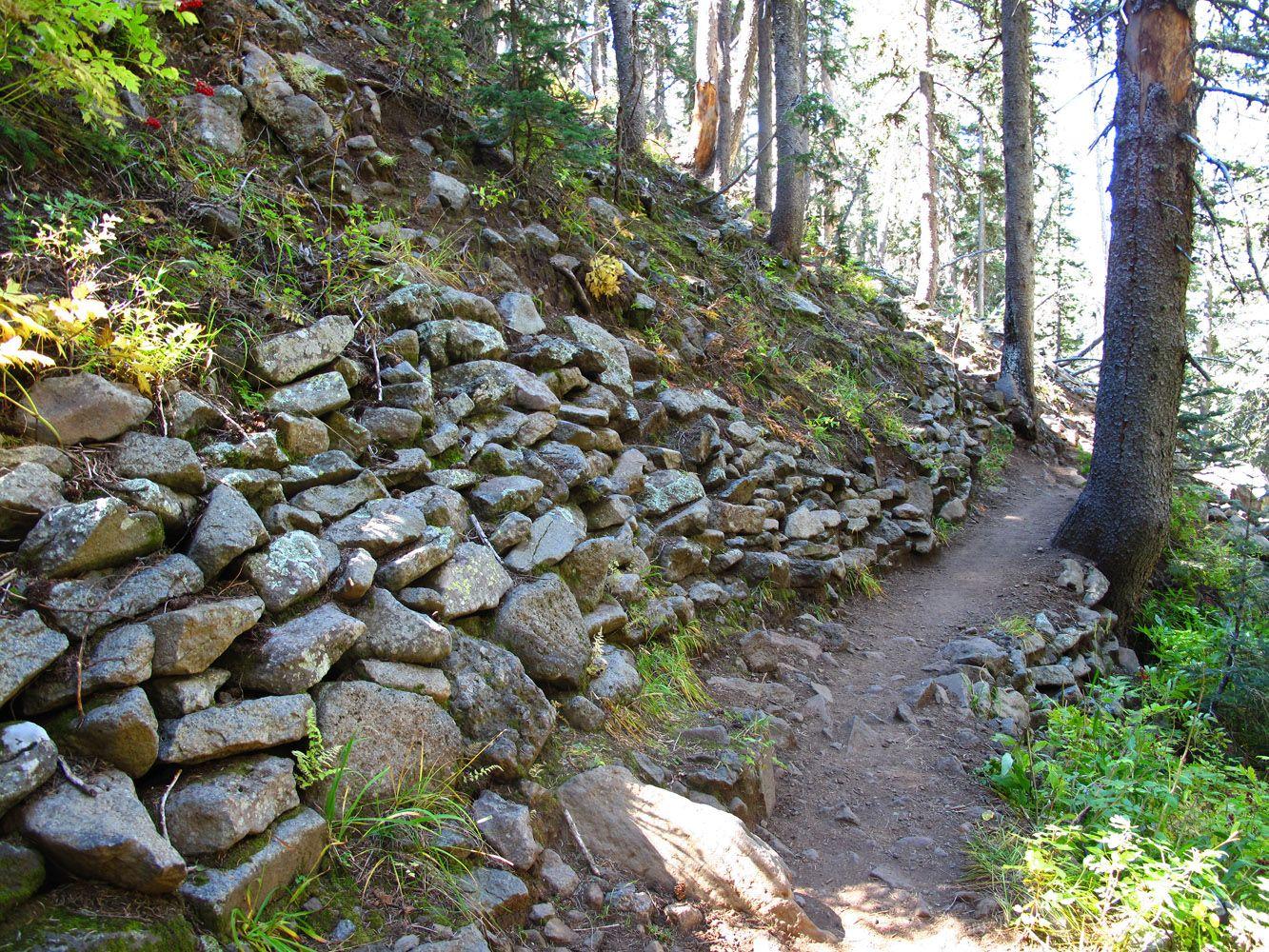 Walking uphill both ways