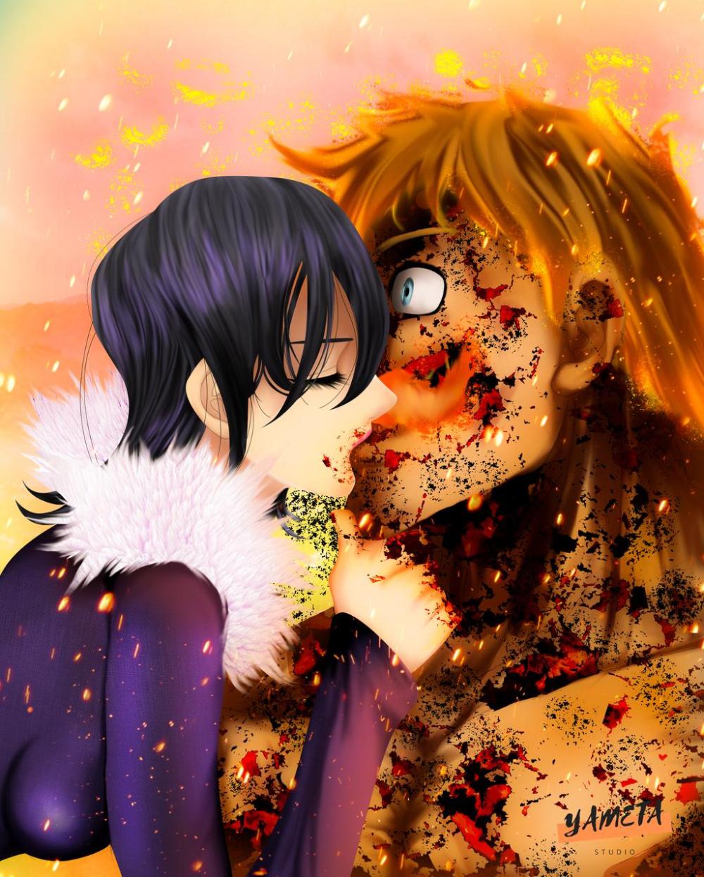 Nanatsu no Taizai 333: The First and the Last Kiss by YametaStudio on DeviantArt