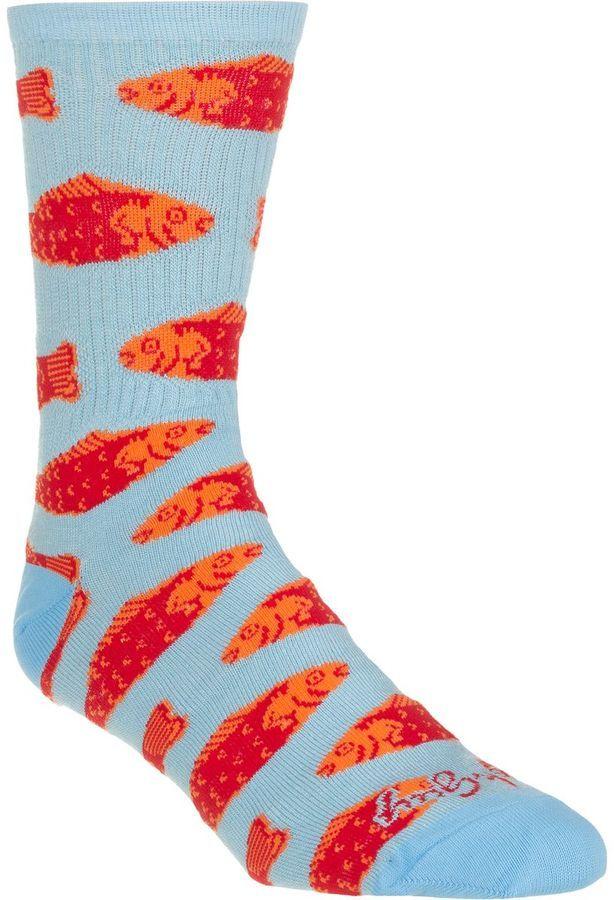 SockGuy Go Fish 6in Sock