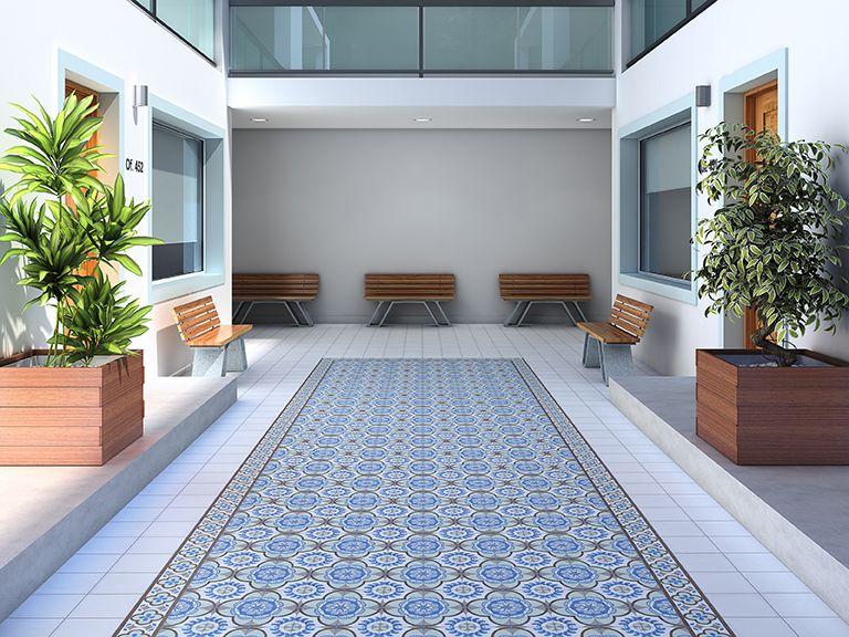 Ambientaciones cer mica san lorenzo porcelanatos - Azulejos de terraza ...