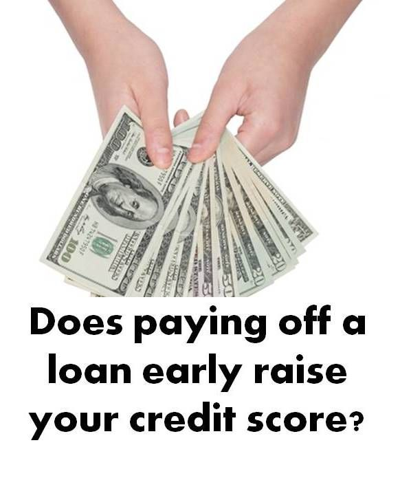 Does Paying Off A Loan Early Raise Credit Scores Paying Off Credit Cards Paying Off Car Loan Car Loans