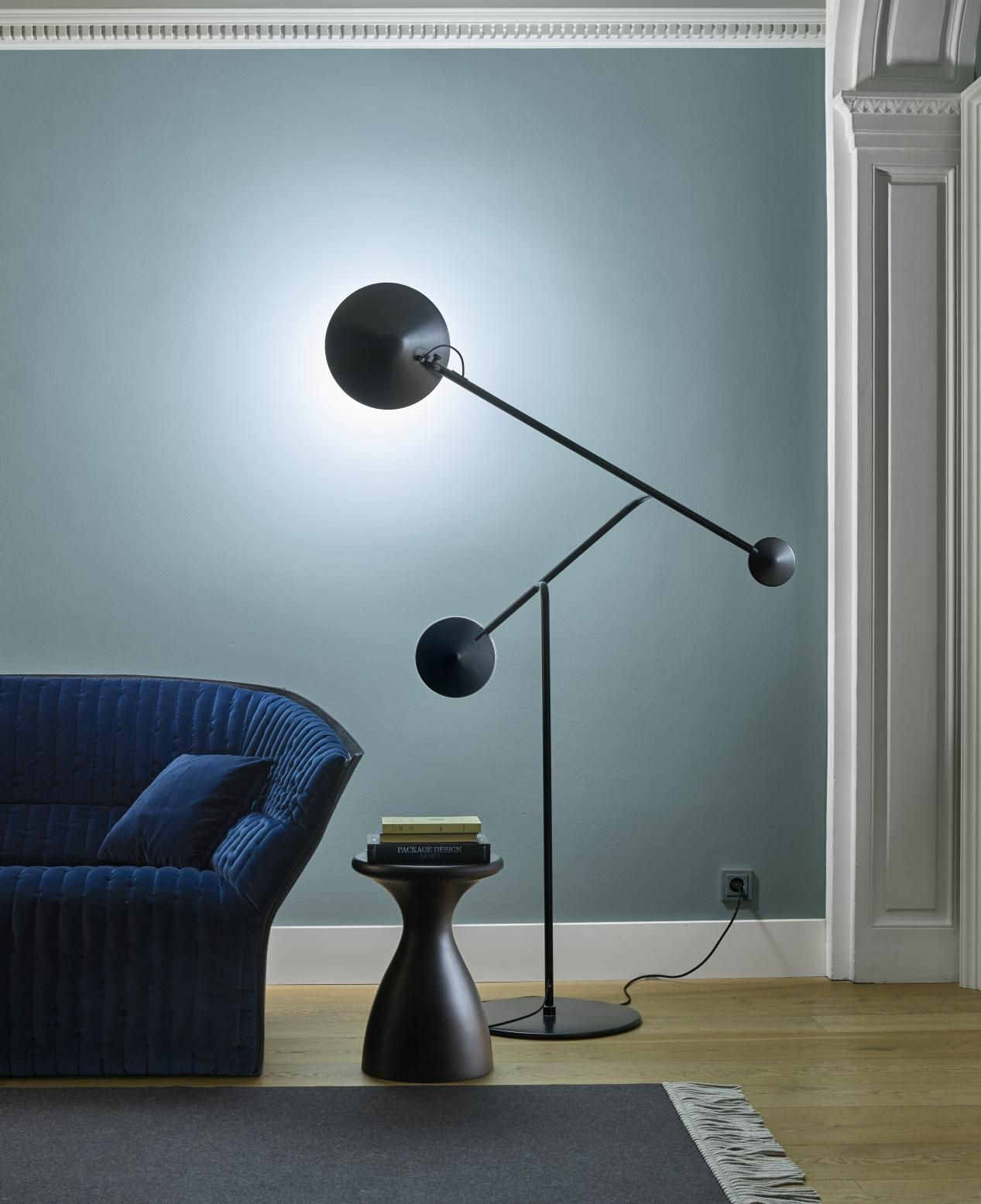 CINETIQUE floor lamp, by Martin Hirth