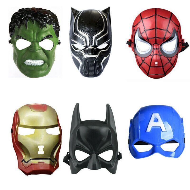 Superman Mask Kids Children Halloween Cartoon Costume Children/'s Day Party