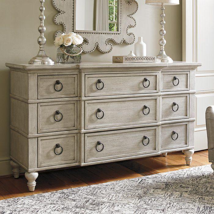 Oyster Bay Upholstered Standard Configurable Bedroom Set