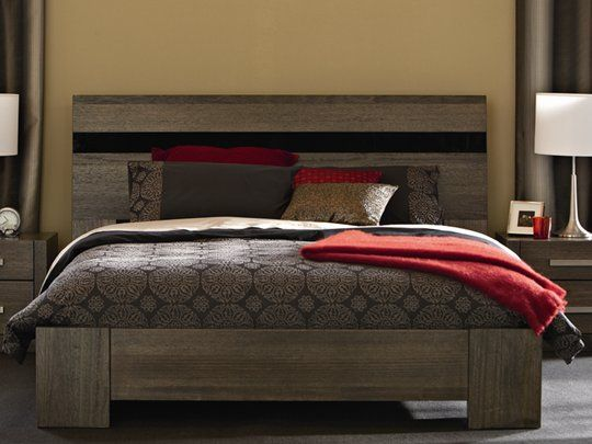 The Snooze Dusk Bed Features A Fantastic Glass Inlay In