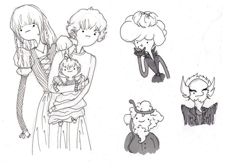 Series Of Unfortunate Events Sketches By Dreamsoffools D5phe8l Jpg 900 644