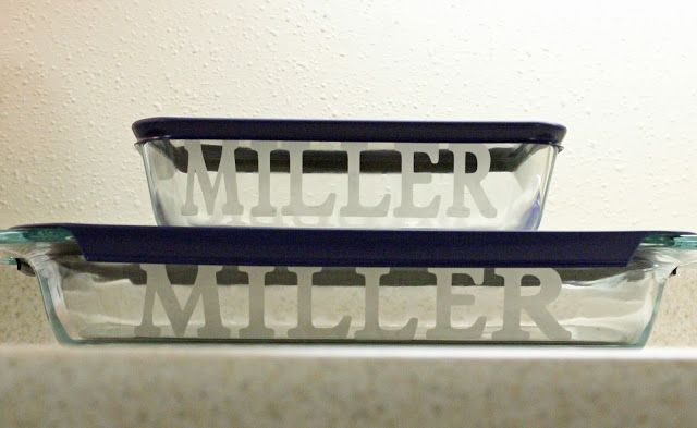 MBC: {How to make} - Personalized baking pans