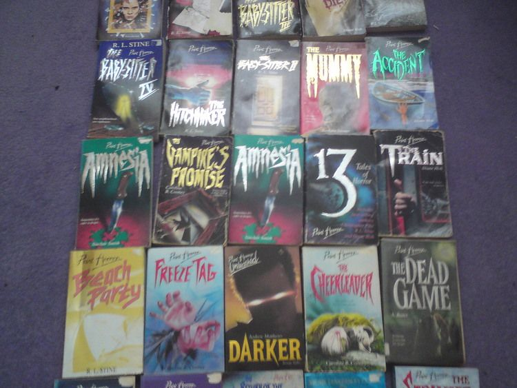 Point Horror Books Aimed At Teens 90 S Early 00 S Despite The Word