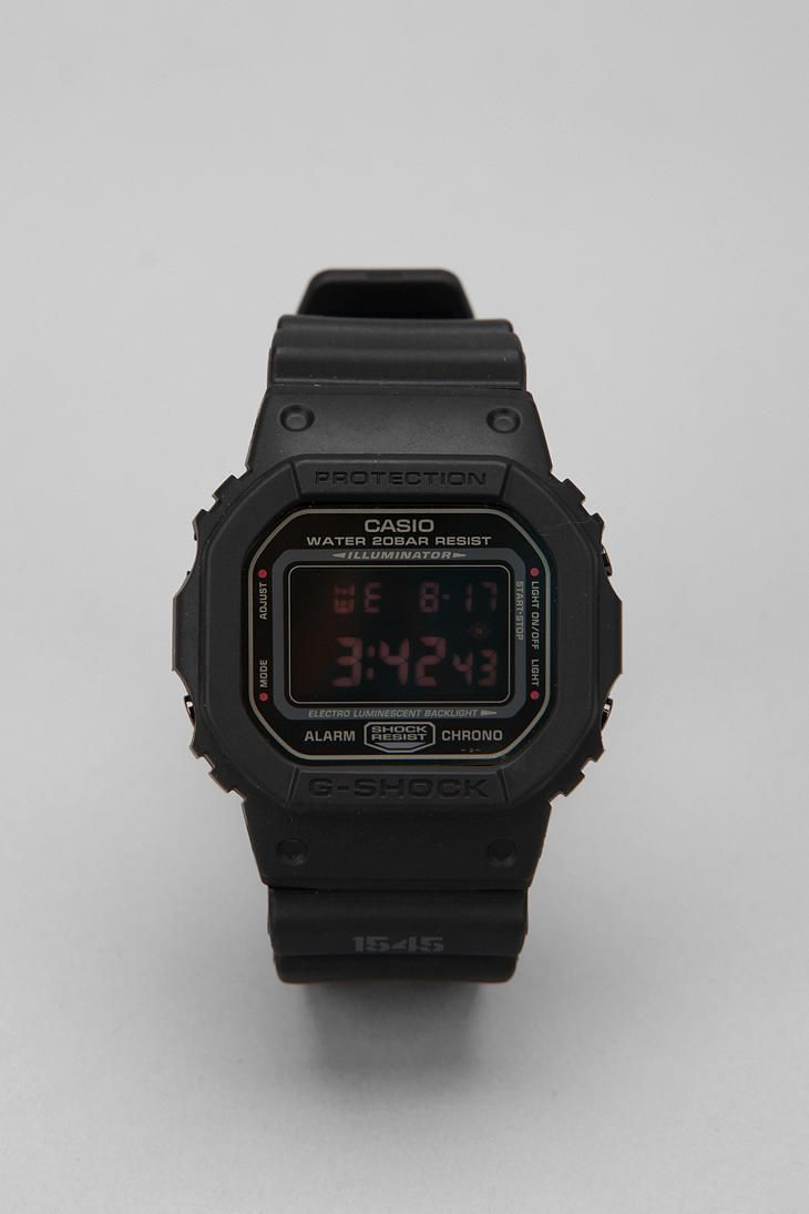 3b657b705e5 G-Shock Black Military 5600 Watch