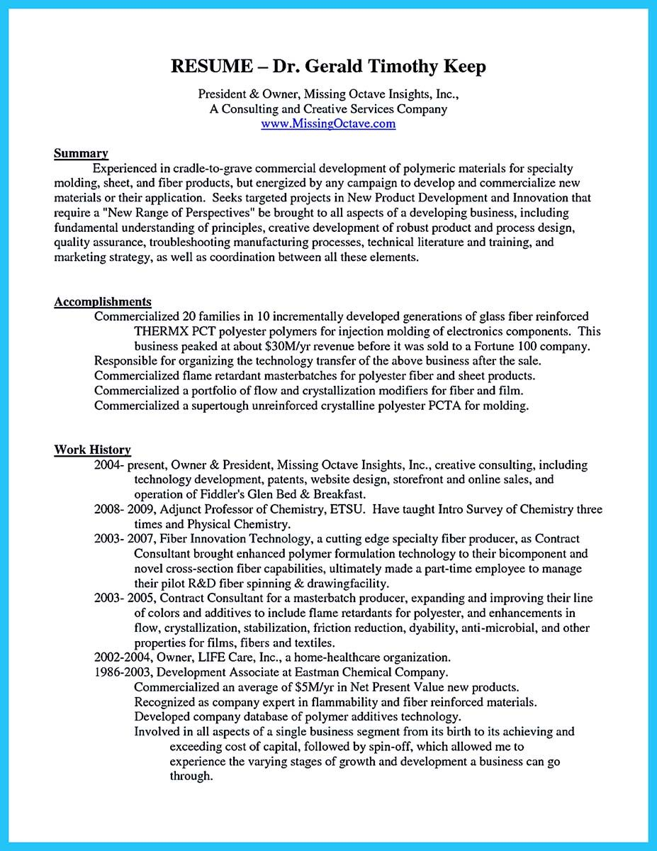 Business Owner Resume Sample Cool Outstanding Keys To Make Most Attractive Business Owner
