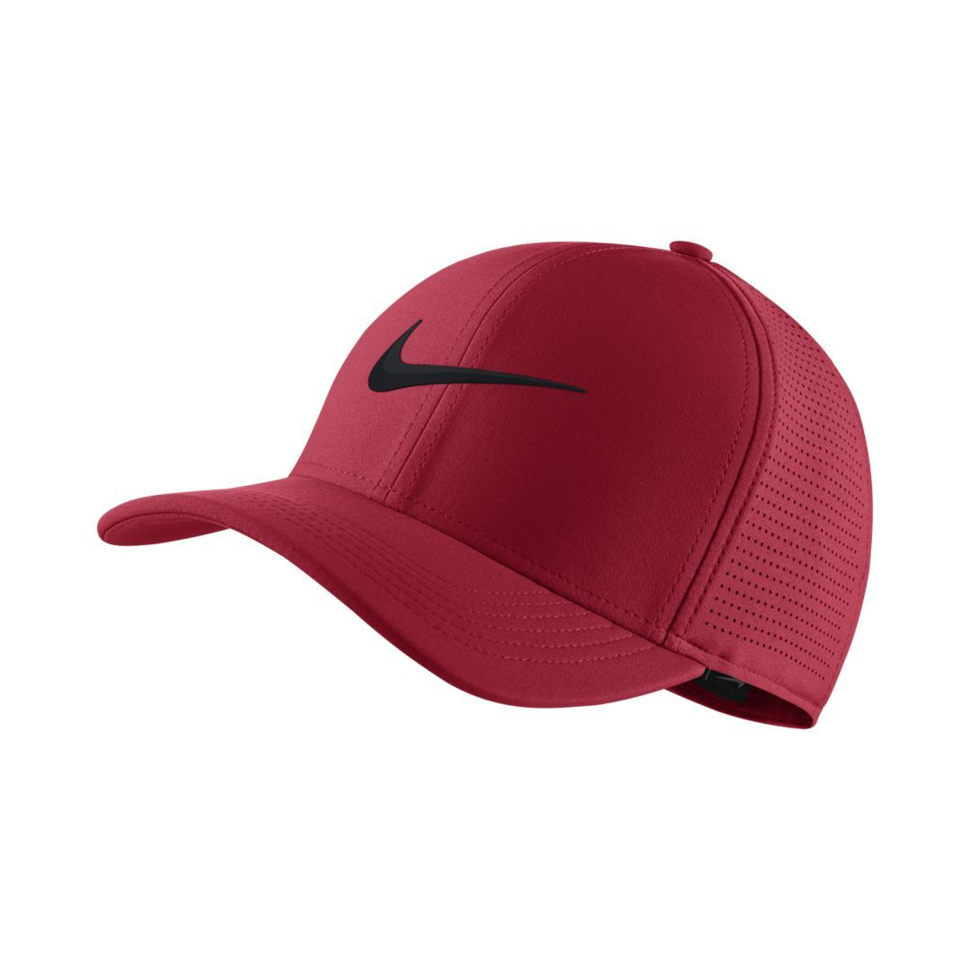 Nike AeroBill Classic 99 Fitted Golf Hat Size S M (Tropical Pink ... 0406c27b782