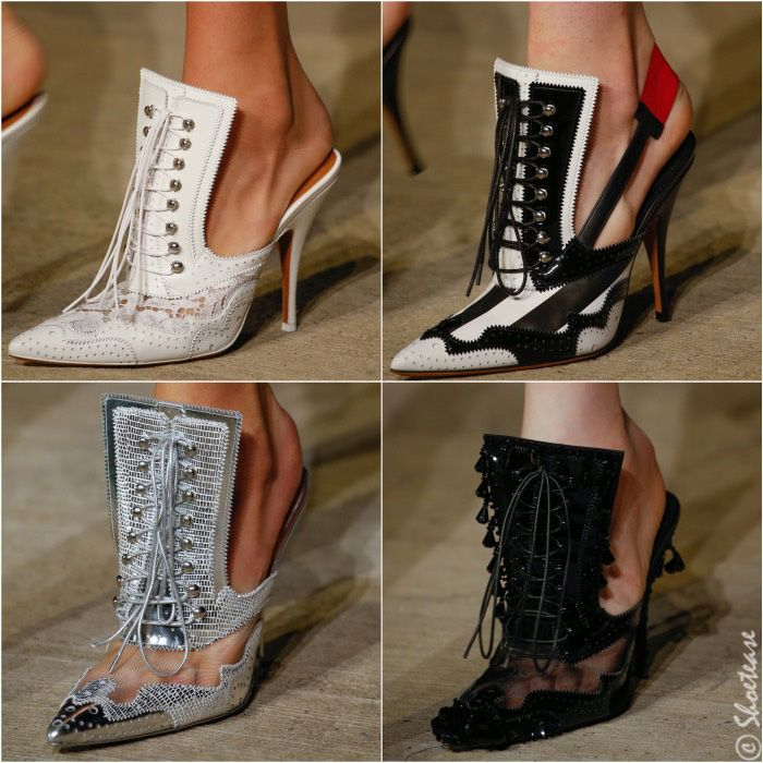 Givenchy Spring 2016 Shoes Possibly the most loved of all Spring 2016 shoe…