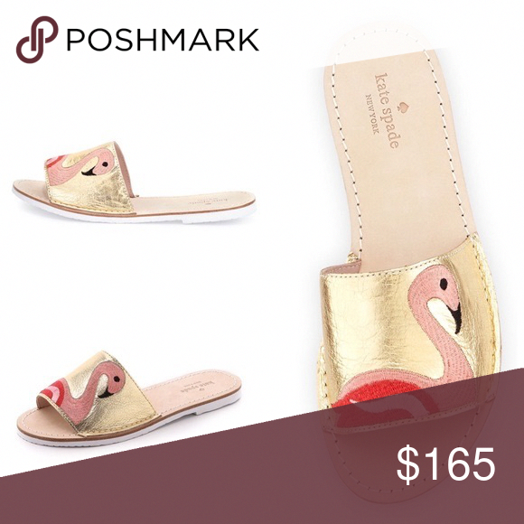 c595f746d19c Spotted while shopping on Poshmark  🎉HP 4 26🎉NWOT Kate Spade Flamingo  Slides!  poshmark  fashion  shopping  style  kate spade  Shoes   Designerhandbags