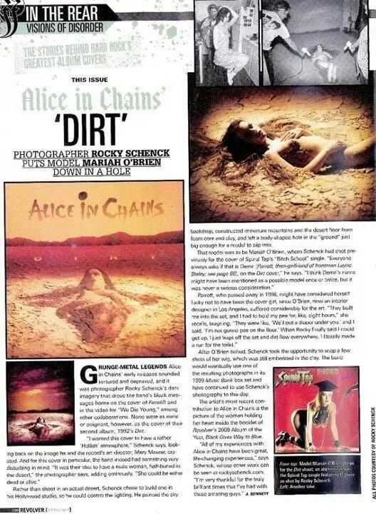 Alice In Chains The Making Of The Dirt Album Cover Article