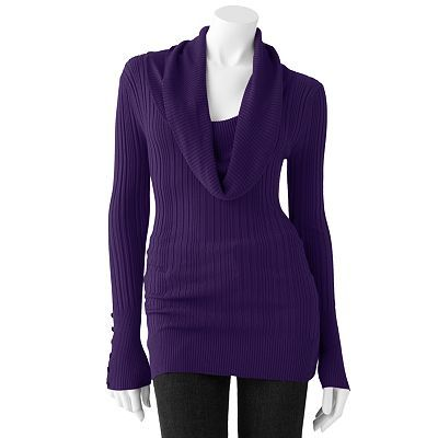 Purple Sweater at Kohl's | I'd Wear That (probably) | Pinterest ...