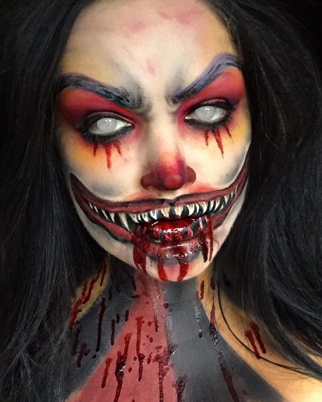Clown Clownmakeup Scaryclownmakeup Halloween Kostumideen