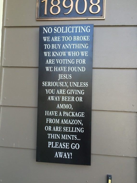 ON SALE NO Soliciting sign - funny porch signs - funny no soliciting sign - thin mints sign - we hav #nosolicitingsignfunny ON SALE NO Soliciting sign - funny porch signs - funny no soliciting sign - thin mints sign - we hav #nosolicitingsignfunny ON SALE NO Soliciting sign - funny porch signs - funny no soliciting sign - thin mints sign - we hav #nosolicitingsignfunny ON SALE NO Soliciting sign - funny porch signs - funny no soliciting sign - thin mints sign - we hav #nosolicitingsignfunny ON S #nosolicitingsignfunny