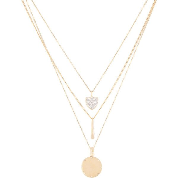 Henri Bendel Varsity Triple Pendant Necklace ($128) ❤ liked on Polyvore featuring jewelry, necklaces, accessories, collares, colares, long necklace pendant, pearl necklace, white pearl necklace, pearl necklace pendant and swarovski crystal pendant necklace
