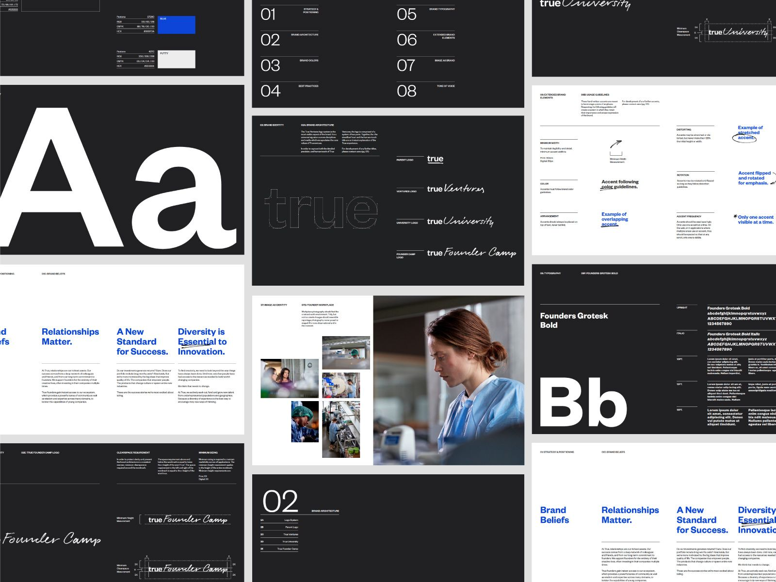 True Ventures Guidelines Brand Guidelines Brand Style Guide Brand Book