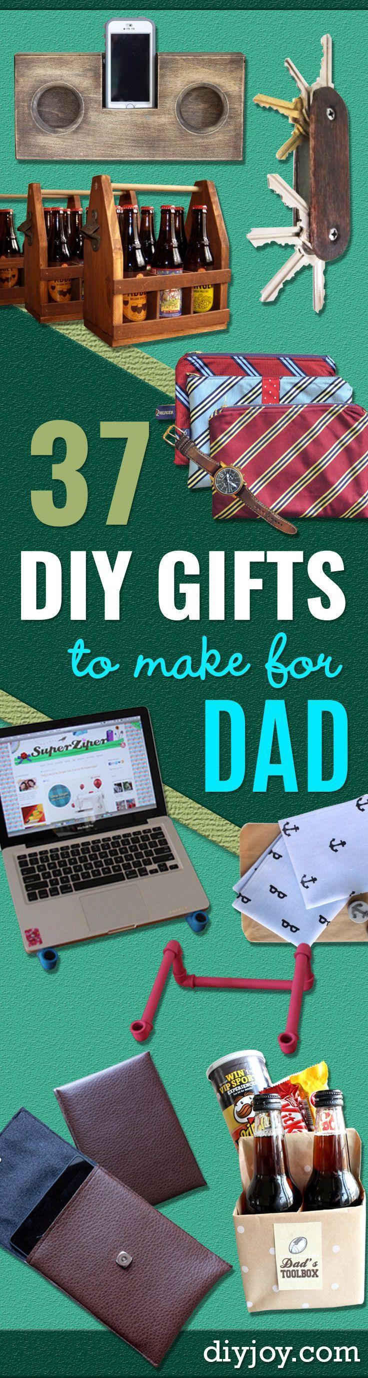 37 awesome diy gifts to make for dad diy diy geschenke. Black Bedroom Furniture Sets. Home Design Ideas