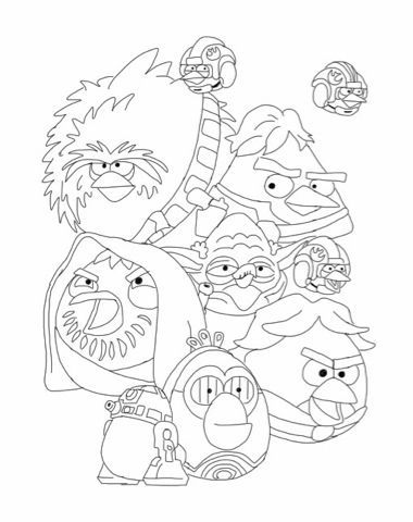 Pin by Marie Colvard on party ideas Pinterest Angry birds and Craft - copy coloring pages angry birds stella