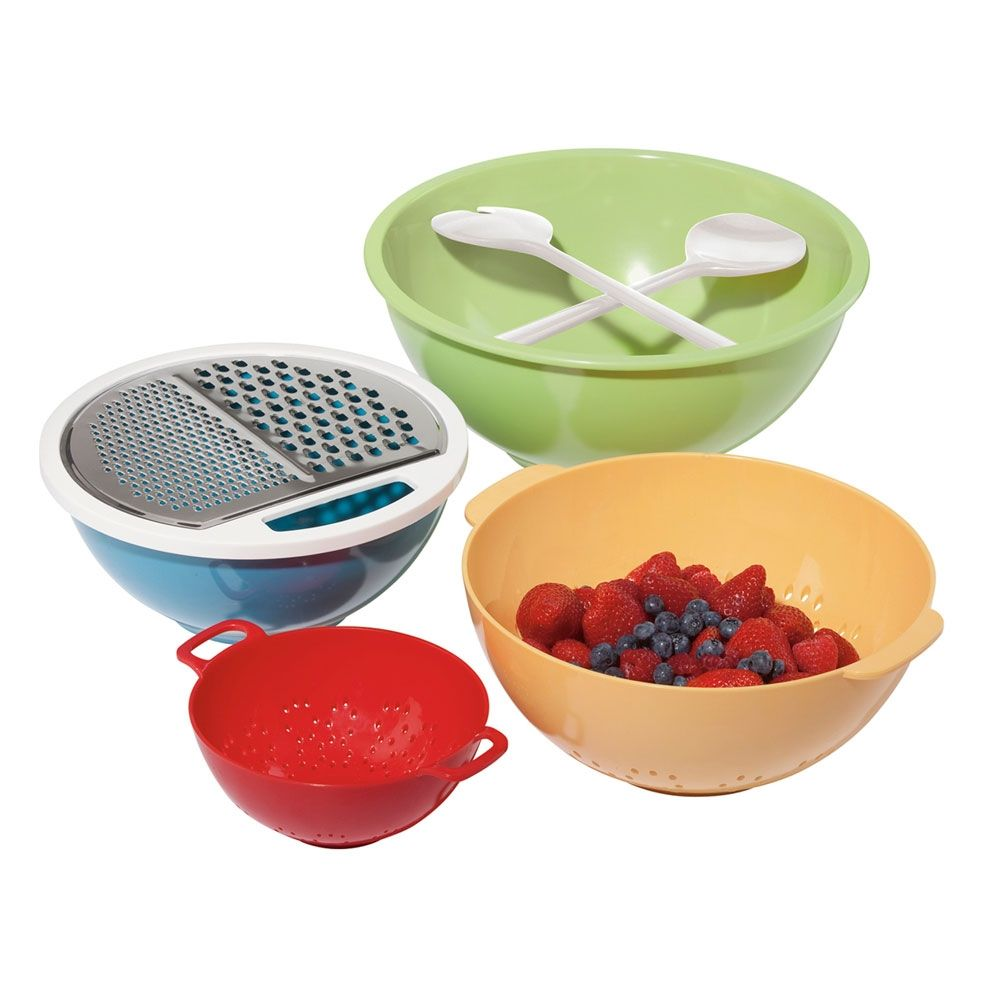 Prep And Serve 7 Pc. Set made by Colorful Kitchen - this is awesome!