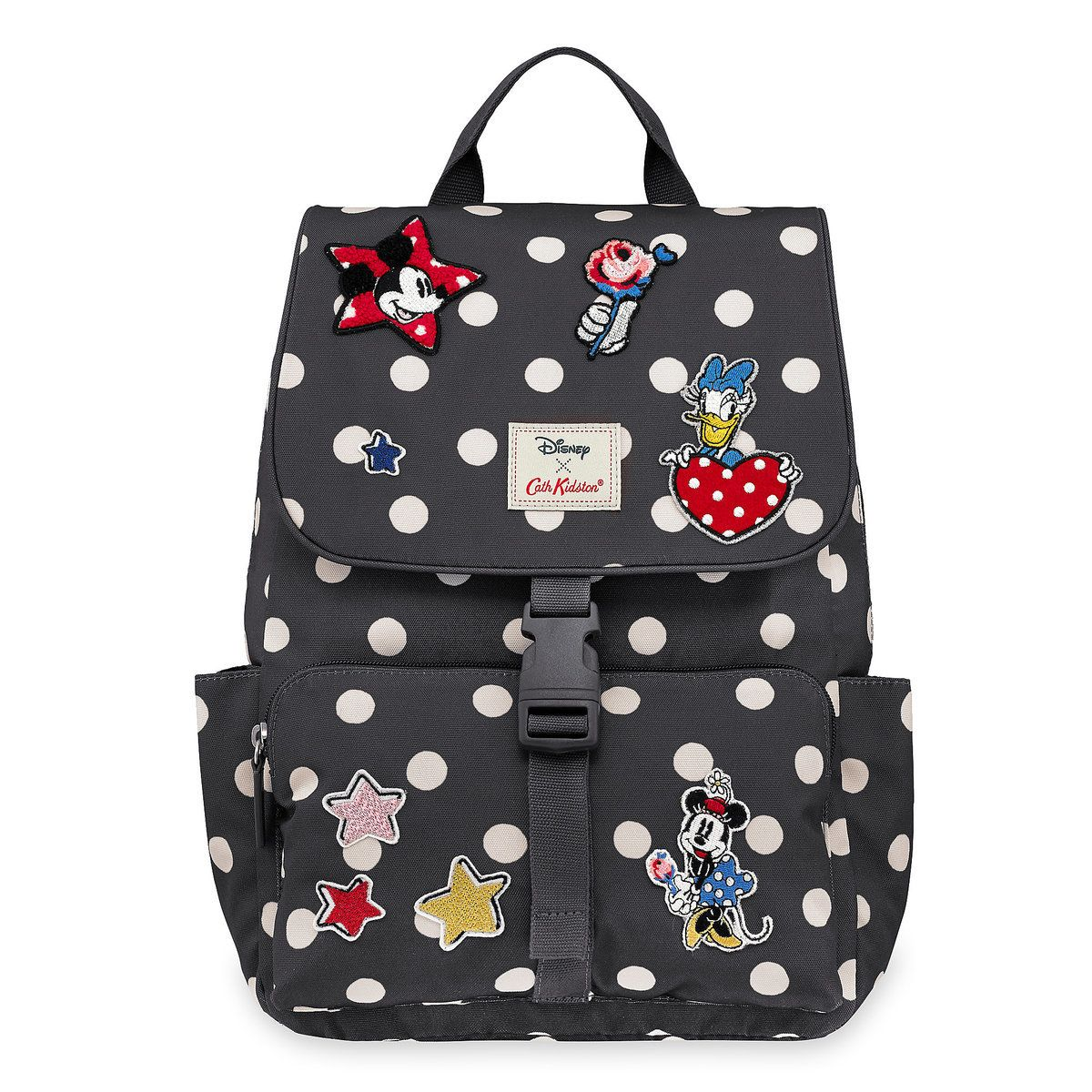 1e1718cb2f7b Mickey Mouse and Friends Buckle Backpack by Cath Kidston l ...