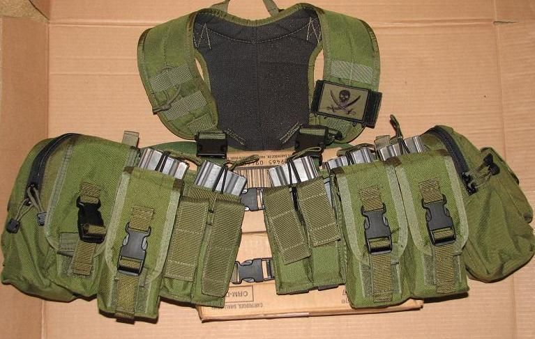 My New rig: Tactical Tailor x harness with 2 piece mav, carries the