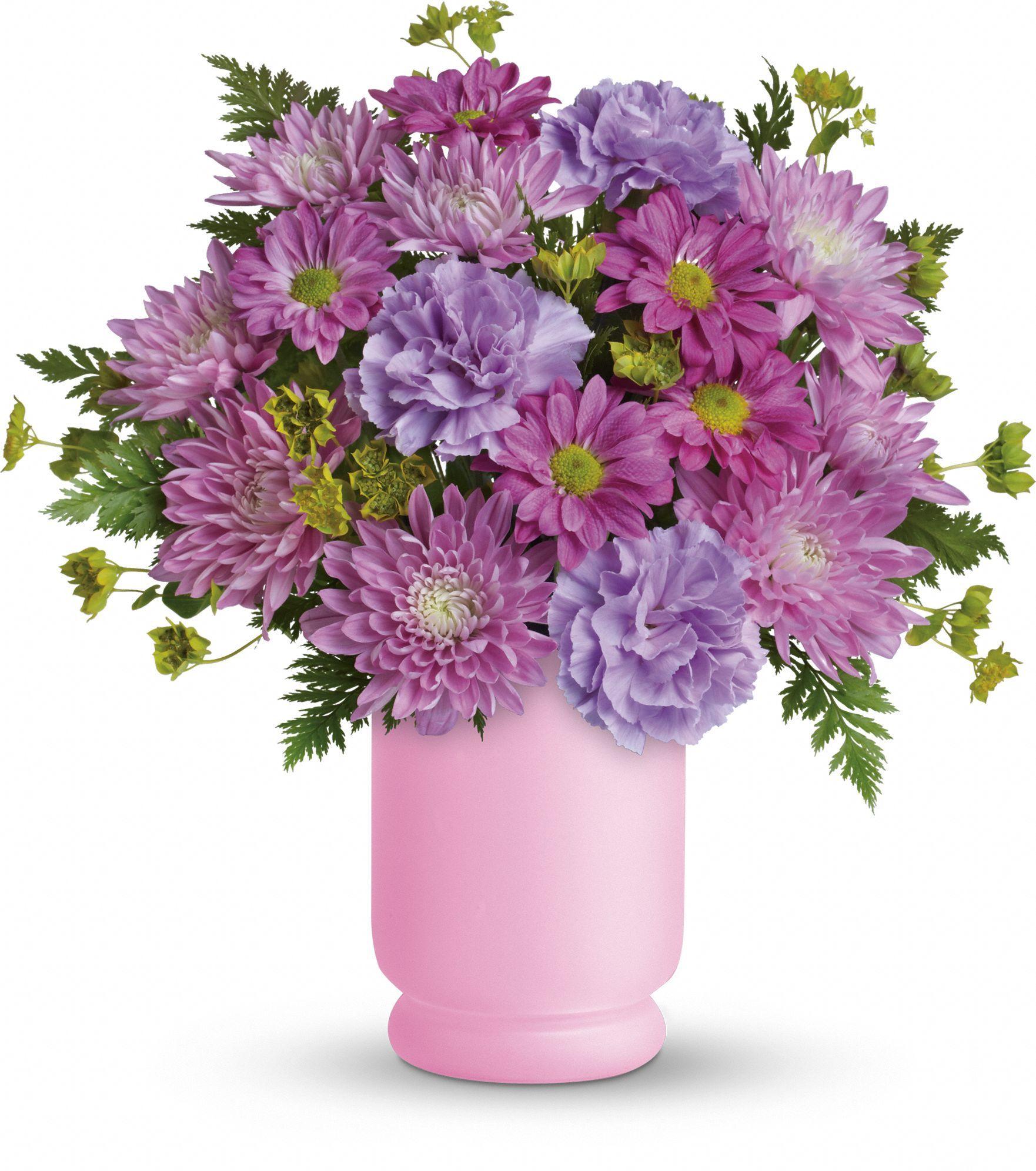 Poetry In Purple Bouquet By Teleflora Buques Roxos Buque De Flores