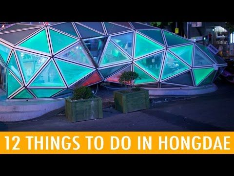 Fun Things To Do In Hongdae KWOW KWOW Season - 12 things to see and do in south korea