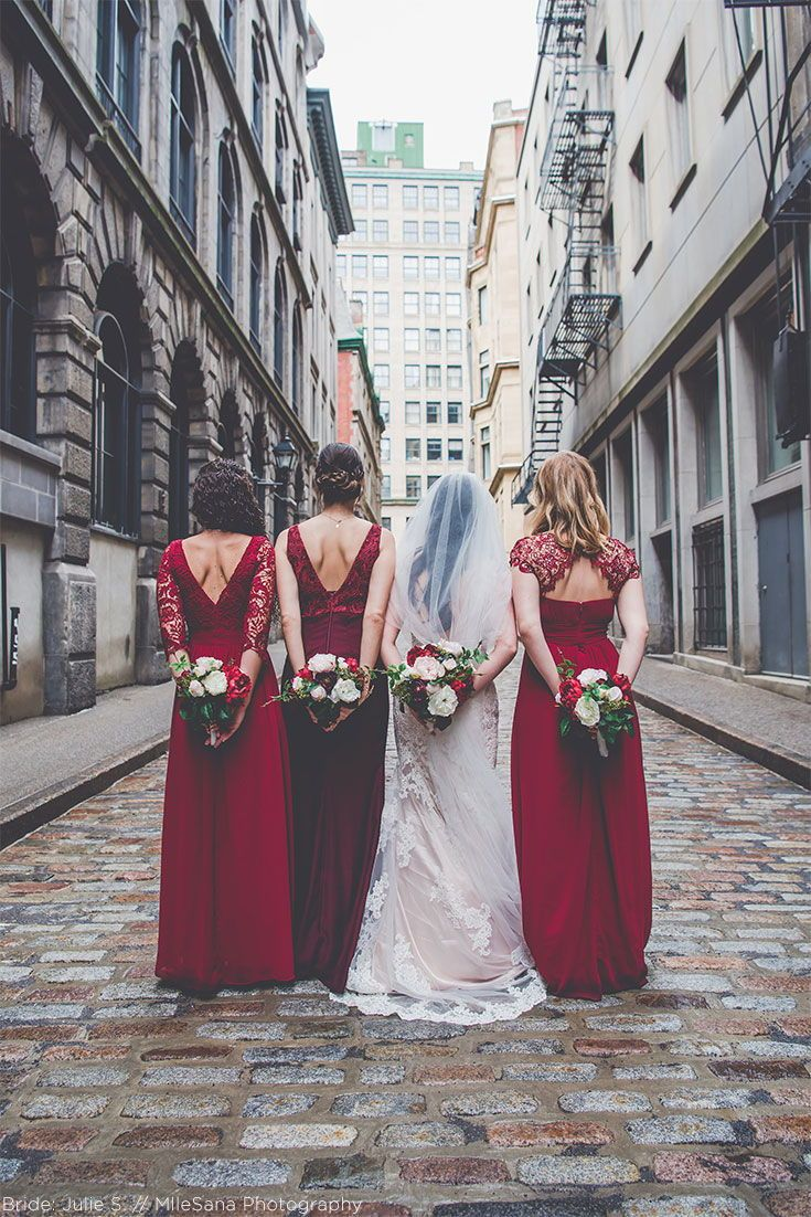 Silk Floral Fall Wedding In The Heart Of New York City Fall