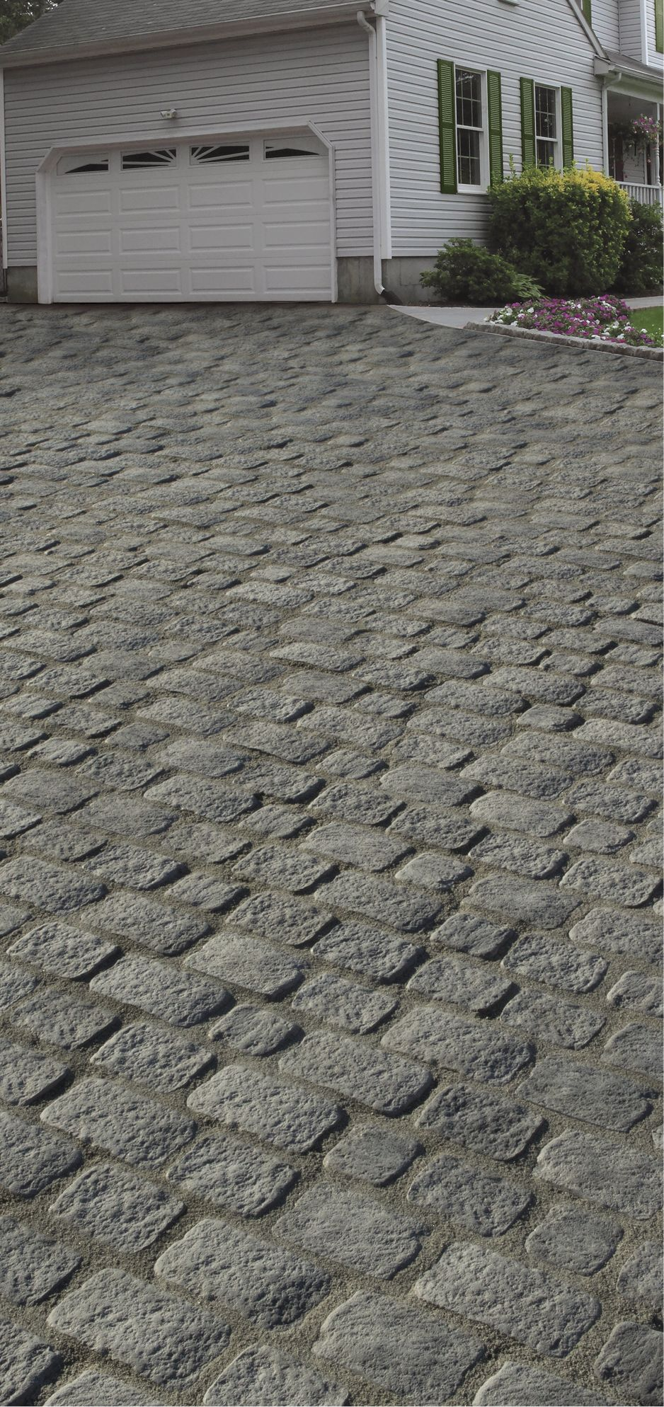 Cambridge pavingstones wall systems color options - Cambridge Sherwood Collection Belgium Cast Stone 5 Pc Design Kit In Heritage Grey