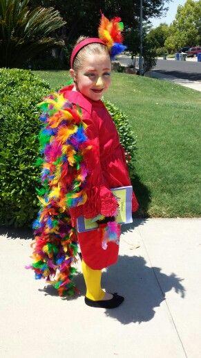Homemade Iago costume in Aladdin Junior  Iago  Pinterest