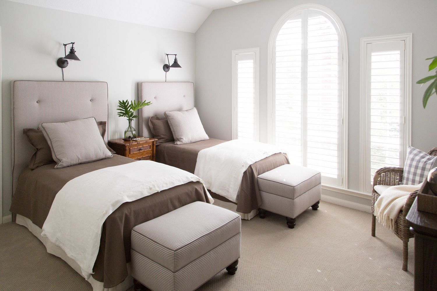 Guest Bedroom Remodel Source List With Links Twin Beds Guest