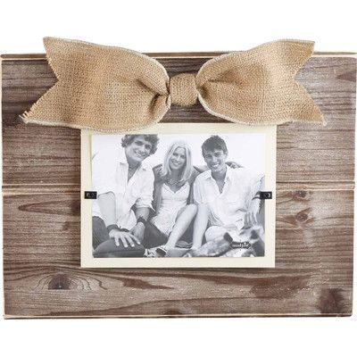 Mud Pie Pine Layered Burlap Picture Frame | Products | Pinterest ...