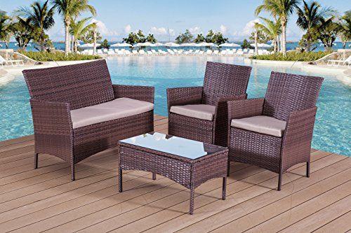 Tinkertonk Seat Garden Patio Rattan Wicker Furniture Cover Waterproof  Outdoor Furniture Shelter